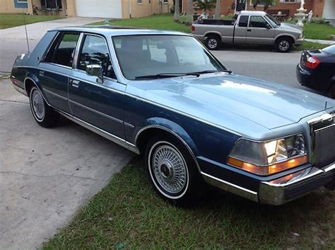 how to learn everything about cars 1986 lincoln continental mark vii electronic valve timing find used 1986 lincoln continental one of a kind no reserve in orlando florida united states