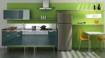 Interior Designs For Kitchens Green Kitchen Design Ideas