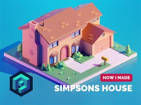 simpsons house tutorial   simpson tutorial saint
