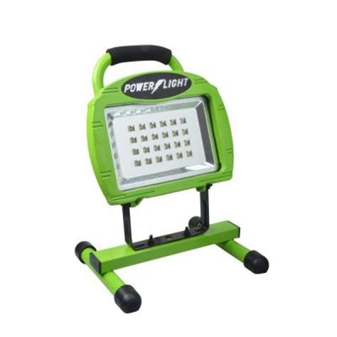Led Work Light Home Depot by Designers Edge High Intensity Green 24 Led Rechargeable