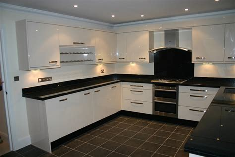 Kitchen Island Granite Top kitchen case study epsom surrey blok designs ltd