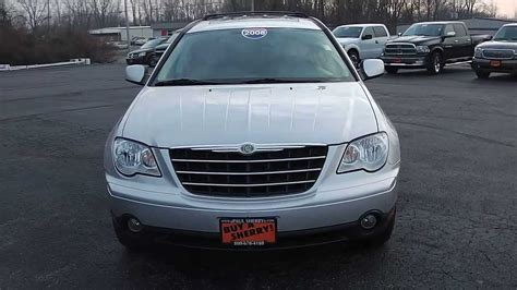 2008 chrysler pacifica touring for sale 2008 chrysler pacifica touring suv silver for sale dealer