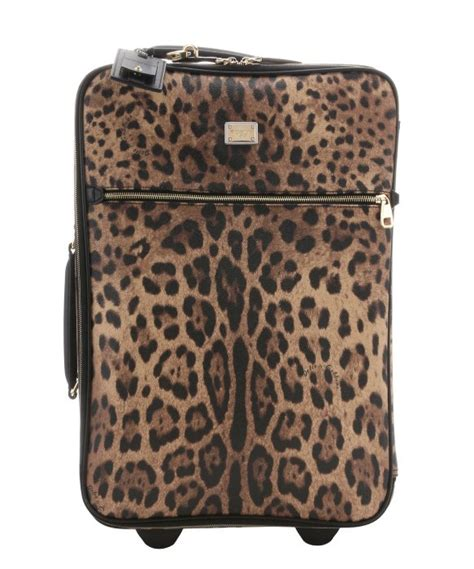 Rollbag Tosca lyst dolce gabbana leather trimmed leopard print