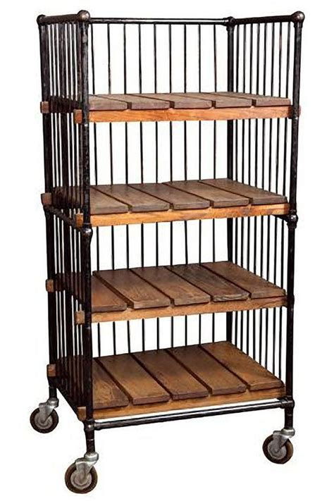 8 vintage industrial baker s shoe racks furniture i