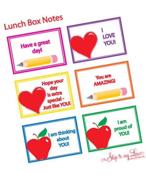 printable lunch box related keywords suggestions for lunch box notes