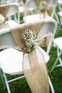 wedding chair decor chairs burlap and barns on