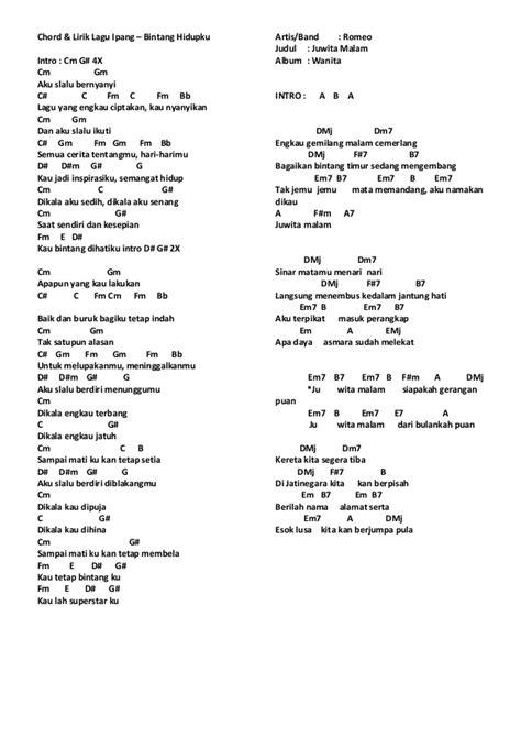 lirik lagu lirik chord lagu mix 1