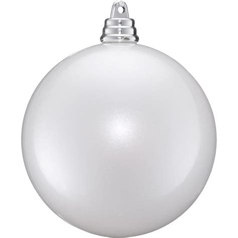 pearl white baubles dzd