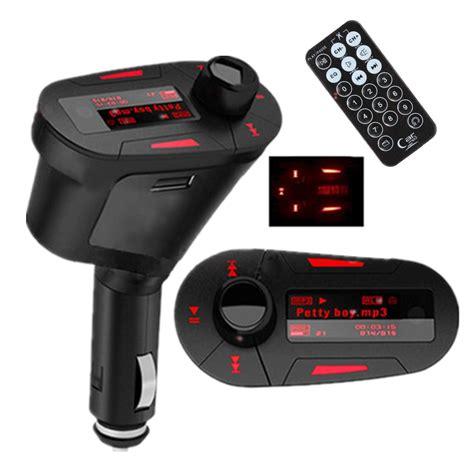 Red Light Wireless Usb Kit Transmitter Car Mp3 Player For Fm Transmitter For Lights