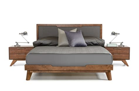 modern walnut bedroom furniture domus soria modern grey walnut bedroom set