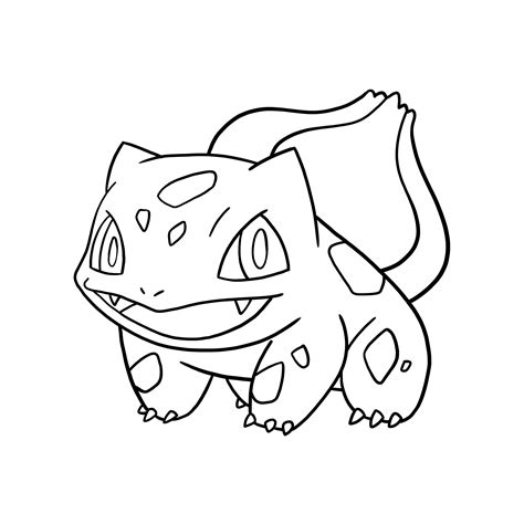 pokemon coloring pages of bulbasaur bulbasaur coloring pages coloring home
