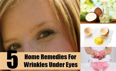 home remedies for wrinkles treatments