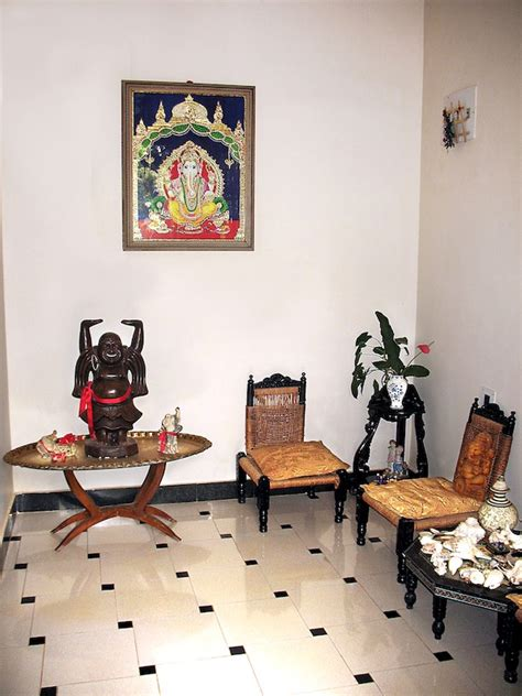 buddha style living room ethnic indian home kaveri chinnappa s coorg inspired home in bangalore interior design travel