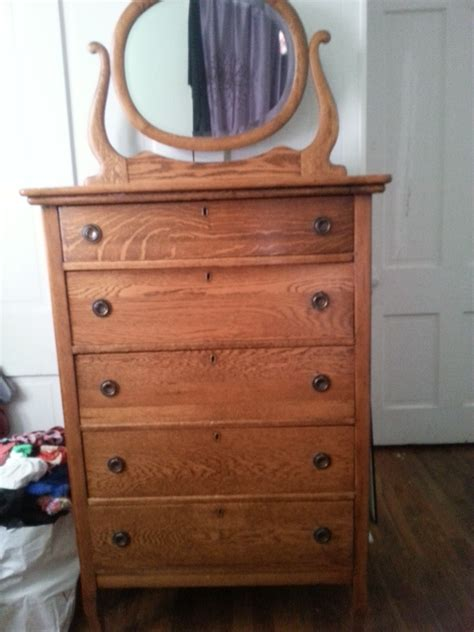 Whats A Dresser by I A Lenoir Chest Of Drawers Signed In The Back Whats