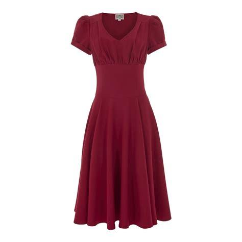 collectif vintage nadine plain vintage tea dress