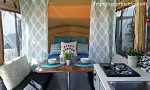 Pop Up Camper Interior Design Ramona S Pop Up Camper Makeover The Pop Up Princess