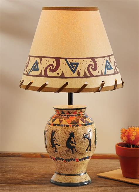 details  hanging capiz shells tabletop lamp