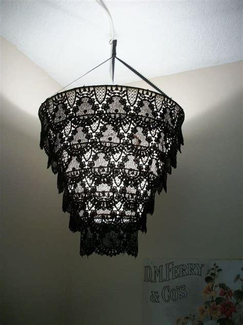 Lace Chandelier venise lace faux chandelier r 233 cup tuto diy