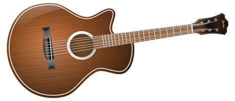 guitar clipart free acoustic guitar clip free vector for free