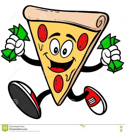 clipart soldi pizza con soldi illustrazione vettoriale immagine 72949357