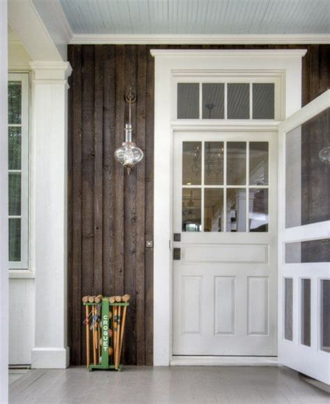 Farmhouse Style Front Doors Front Door With Style Screen Door And Transom New Look For My Home
