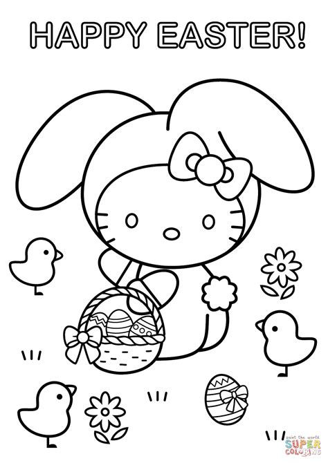 happy easter coloring pages rawesome co