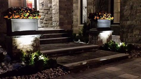 Landscape Lighting Toronto Landscape Lighting Our Work Toronto Landscape Design