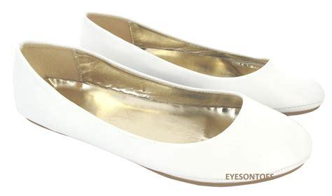 flat ballet ballerina pumps plain womans work
