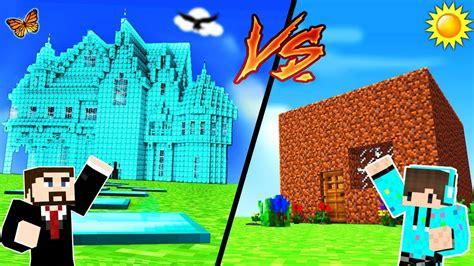 membuat rumah yang bagus di minecraft tantangan build mana yang paling bagus di minecraft youtube