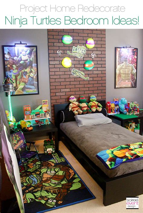 ninja bedroom theme project home redecorate ninja turtles bedroom ideas