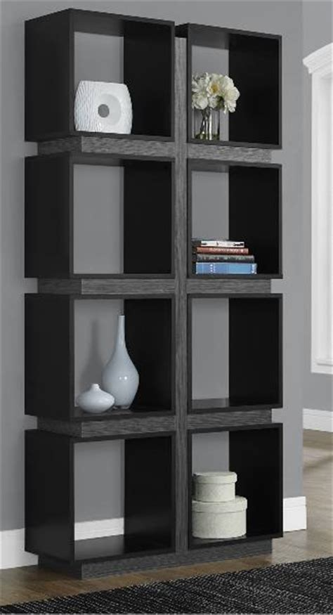 7 modern black bookcases for your office furniture