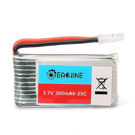 Original Battery Baterai Hubsan 37v 380mah H107d H107c Yz X4 Dll eachine e20 3 7v 380mah 25c lipo battery