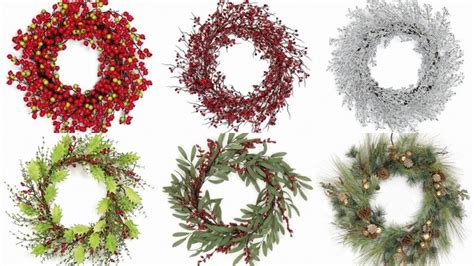 christmas craft product christmas evergreen garland for