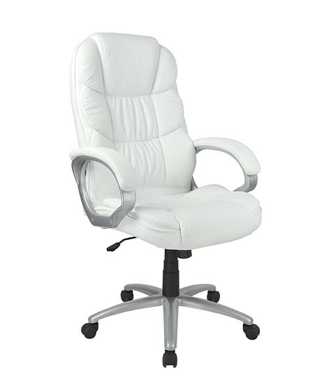 White Leather Computer Chair Design Ideas White Leather Executive Chair Decor Ideasdecor Ideas