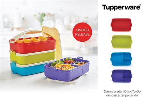 Tupperware Click To Go multi click to go tupperware katalog promo terbaru