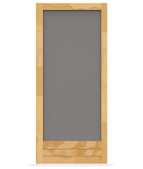 Which Is Better Vinyl Or Aluminum Screen Door - meadow wood screen door screen tight wood and solid