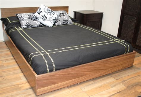 Black Wood King Size Headboard by Low Profile Platform Bed Frame Peugen Net