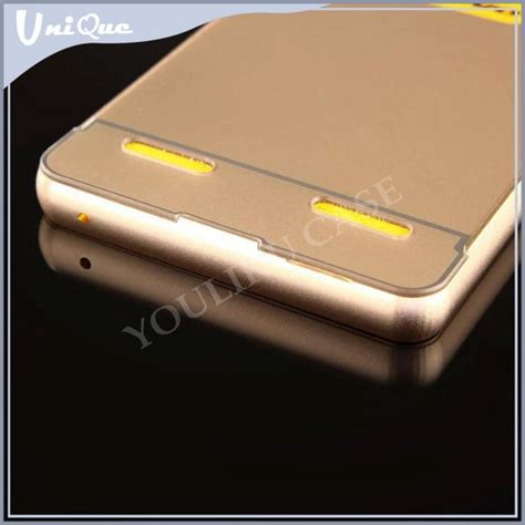 Daft Casing Lenovo A7000 Custom metal aluminum bumper back cover for lenovo a7000 a6000 for lenovo a6000 cover buy back