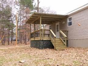 mobile home porches decks and porches the mobile home