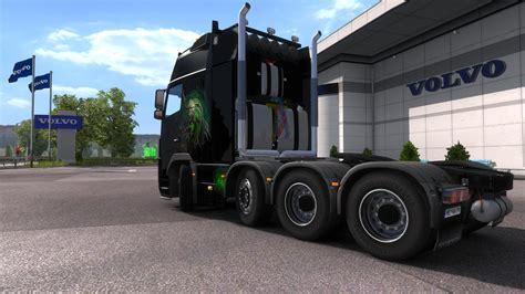 game modding euro truck simulator 1 volvo fh16 8x4 1 21 ets2 mods euro truck simulator 2