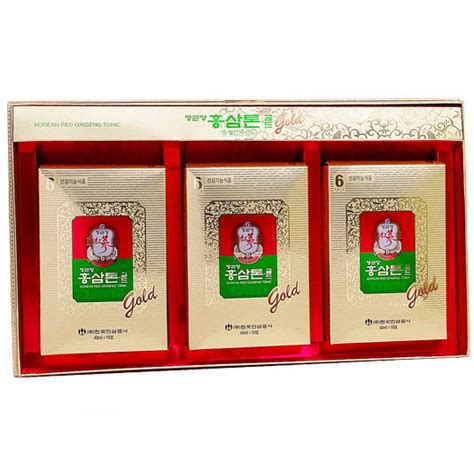 Korean Ginseng Tonic korean ginseng tonic gold 40ml x 30 cheong kwan jang