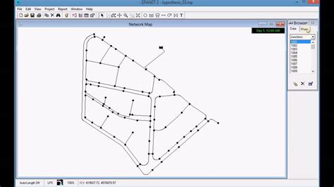 qgis epanet tutorial 05 6 analyzing the results of hypothesis 3 with epanet