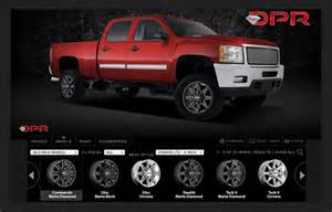 Truck Wheel And Tire Configurator Wheel Visualizer For Trucks With Lift Kits 187 Ideas Home Design