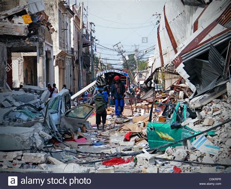 earthquake haiti central port au prince after the haiti earthquake with