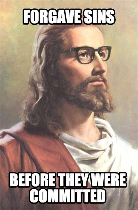 Cool Jesus Meme - hipster jesus meme guy