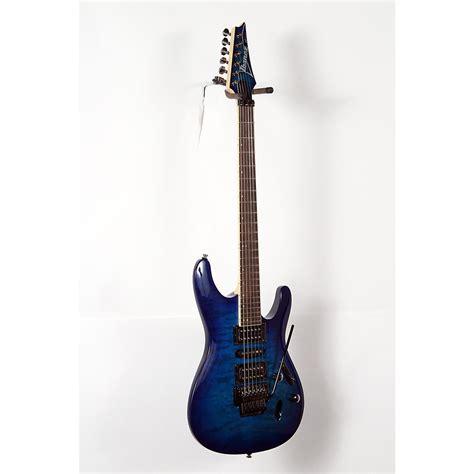 Ibanez S Series Blue ibanez s670qm s series electric guitar sapphire blue