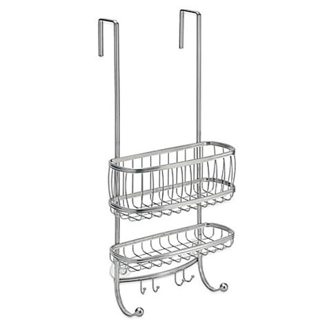 shower caddy bed bath and beyond interdesign 174 york over door shower caddy bed bath beyond