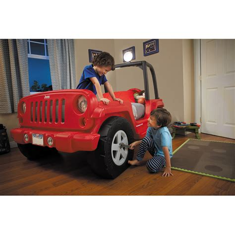jeep bed little tikes jeep bed red ebay