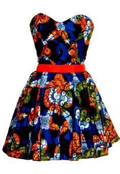 Cameroon Blouse beautiful print dress ha werk fashion print