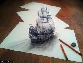 3d Sketch Online The Pictures That Draw You In Amazing 3d Sketches That